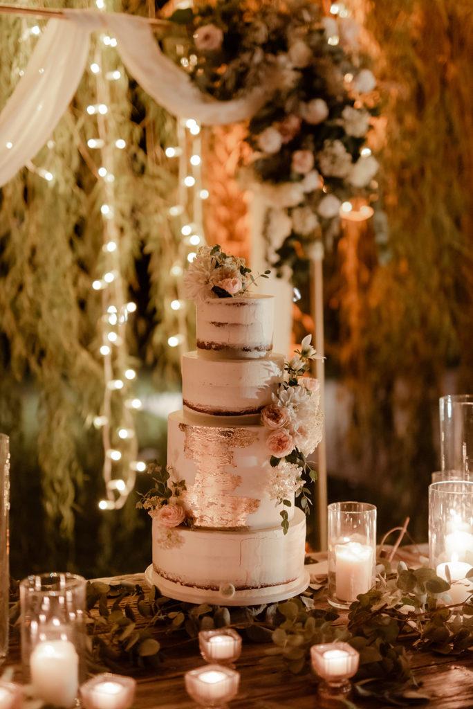 decorazioni per torta nuziale
